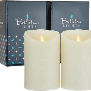 "S/(2) 5"" Touch Candles in Gift Boxes"